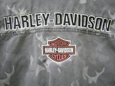 HARLEY DAVIDSON HD CAMO CAMOUFLAGE SHIRT / JACKET MEN'S XL EXTRA LARGE NICE!!!