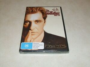 The Godfather Part III   -  DVD - Region 4 - New