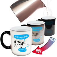 Funny Mugs Milk I Am Your Father - MAGIC NOVELTY MUG secret santa
