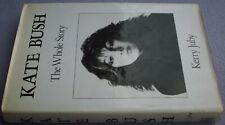 Kate Bush The Whole Story Kerry Juby Hb Dw 1988 First Edition 1/1 Rock Pop Music
