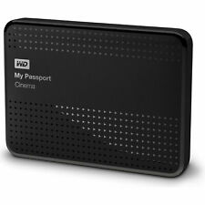 WD BRAND NEW 1TB [EXTERNAL] DRIVE USB 3.0 My Passport Cinema WITH CARRYING CASE