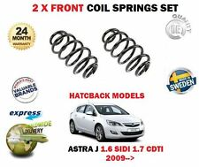 FOR OPEL VAUXHALL ASTRA J 1.6 SIDI 1.7 CDTI HATCH 2009> 2x FRONT COIL SPRING SET