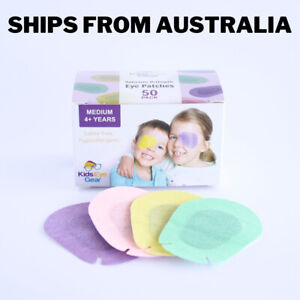 Kids Eye Gear Adhesive Eye Patches for Kids Lazy Eye MEDIUM MIXED Box 50 PPGY