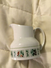 VINTAGE ENGLAND ROYAL DOULTON TAPESTRY FINE CHINA CREAMER CUP PITCHER!