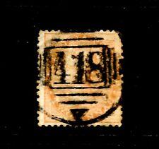 INDIA 1865, 2A Yellow, Queen Victoria, SG 61, FU