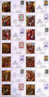 VATICAN HOLY YEAR 1975 LIMITED EDITION SERIES / WAY OF THE CROSS 14 FDC COMPLETE