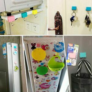 1/2/3pcs Magnetic Hooks School Locker Hook Refrigerator Hanger Creative Magnetic