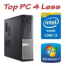 Dell Optiplex 3010 Desktop PC Core i3 2120 4GB 250GB DVDRW Win 7 Pro