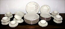 Lenox Wyndcrest 48 Pc China Dinnerware Set for 12 and Serving Pieces