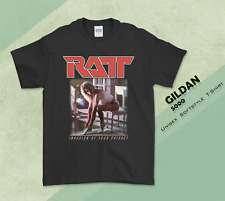 Ratt - Invasion Of Your Privacy T-shirt Tee Cotton Men Regular Size S-3XL