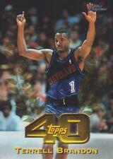 1997-98 Topps Chrome Topps 40 #T3 Terrell Brandon Cleveland Cavaliers