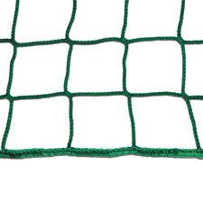 Seitenschutznetz 2x5m grün Dachdeckerfangnetz Heunetz Anhängernetz Gerüstnetz