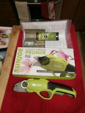 Sunjoe Cordless Pruner Model Pj3600C, 3.6V Rechargeable, Euc