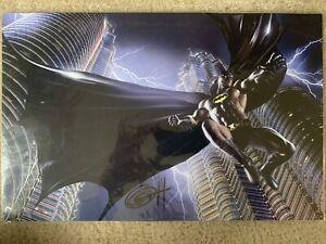 Greg Horn Signed Batman 11x17 Lithograph Poster Print DC Comics