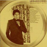 LEONARD COHEN Greatest Hits CD BRAND NEW