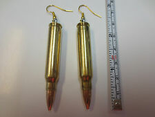 .223 Rim Bullet Earrings / New / Free Shipping