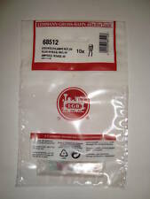 LGB 68512 ORIGINAL PLUG-IN 5 VOLT RED BULB SET OF 10 PIECES BRAND NEW IN BAG!