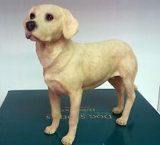 Large Dog Studies by Leonardo Golden Labrador Retriever Figurine Ornament BNIB