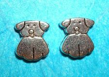 Dog Spacer Beads Charms Dog Charms Canine Charm Animals Jewelry Findings Beads
