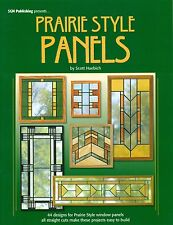 Prairie Style Panels Stained Glass Pattern Book, Books, South West Design