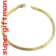 K032 -18 CM- BRACELET armband MIROIR spiegel - OR goud