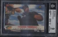 1997 Denny's Holograms Frank Thomas Mint BGS 9 Sub 9.5 Chicago White Sox
