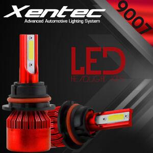 9007 HB5 CREE LED Headlight Conversion Kit 488W 48800LM Hi/Lo Lamp Bulbs 6000K