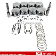 (.50mm) Oversize Pistons & Rings Set Chrysler Dodge Jeep Mitsubishi 4.7L 287 V8