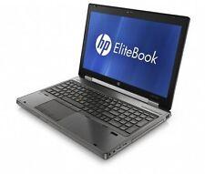 HP EliteBook 8770 W i7-3520m 2x2, 90ghz 16 Go 320 Go k3000m RW usb3 FP Nº Feuille w7 Batterie
