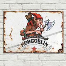 Hob Gobling Wychwood Metal Plaque Signs Man Cave Pub Club Cafe Vintage Tiki Bar