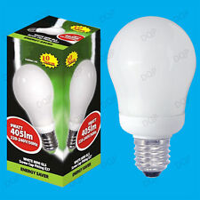 9W Mini GLS Basse Energie CFL 3500K Ampoule Lumière Blanche,ES,E27 Vis Edison