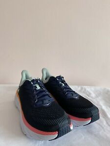 Hoka One One Clifton 7 Womens UK7 [Black Iris/Blue Haze]
