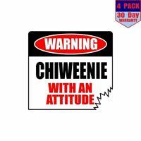 "ThatLilCabin CHIWEENIE DAD PAW PRINT 6/"" AS1510 car sticker decal"