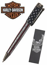 Harley Davidson Vintage Rider #HDBP-1762 / Easy - U. S. Flag Ball Point