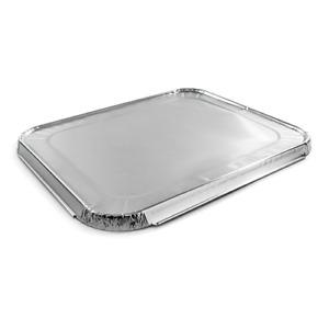 Foil Container Lid 322 x 262mm Aluminium Case of 150