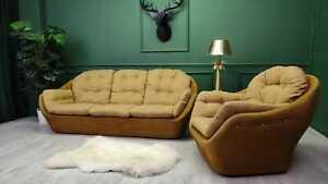 Vintage Retro Unique Egg Sofa Settee  egg chair 1980s