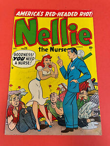 NELLIE THE NURSE # 25 (1950) MARVEL  - TEENAGE  COMIC BOOK - GOLDENAGE
