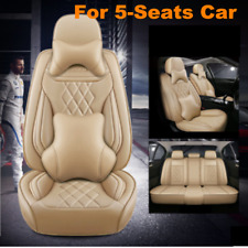 Deluxe Edition Car Seat Cover Full Surround Seat Cushion Breathble PU Leather