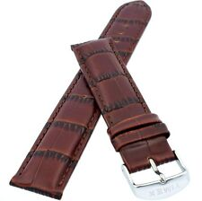 TIMEX Watch Strap Band for T2N942 IQ World Time Brown Original 20mm