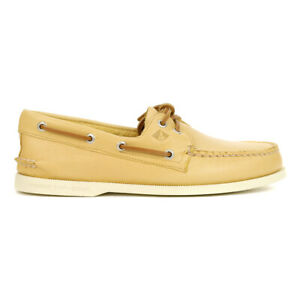 Sperry Men's Authentic Original 2-Eye Whisper Yellow Boat Shoes STS22216 NEW