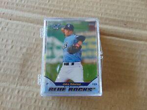 2011 WILMINGTON BLUE ROCKS HIGH A KANSAS CITY ROYALS BASEBALL TEAM CARD SET