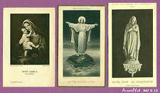 3 FAIRE-PART SOUVENIR MONTMARTRE & VIERGE MARIE, RELIGION  - G13