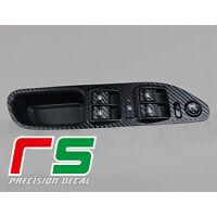 Fiat Tipo ADESIVI pulsantiera alzacristalli decal sticker tuning carbon look