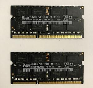 SK hynix 8GB (2x4GB) RAM DDR3 2Rx8 PC3 / 1600 MHz / Laptop / iMac