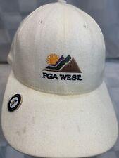 PGA West Golf Ball Marker Adjustable Adult Baseball Ball Cap Hat