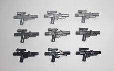 LEGO Star Wars - 9x Blaster in 3 Farben - Waffe Pistole Weapon Gun Pistol 58247