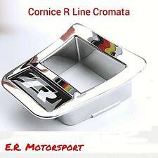 Cornice Cromata volante R Line Black Volkswagen Golf Jetta Scirocco Passat Tigua