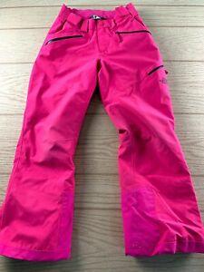 The North Face Insulated Snow Ski Pants Girls Medium 10 12 Fuschia Pink