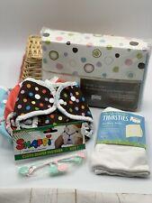 Thirsties Brand Cloth Diaper Lot NEW