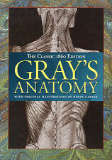 GRAY'S ANATOMY Illustrations by Henry Carter 600 Pages **VERY GOOD COPY**